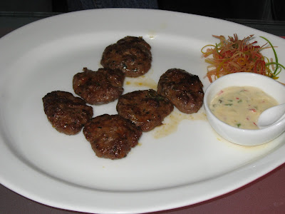 Spiced Lamb and Jalapeno Kibbeh at Stone Water Grill Pune