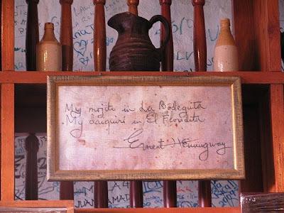 Ernst Hemingway's Note