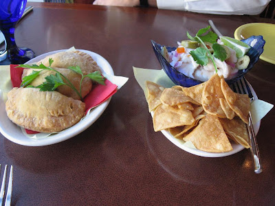Ceviche and Empanadas at Cascal