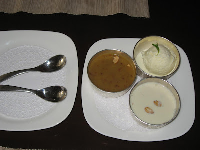 Desserts at Kokum