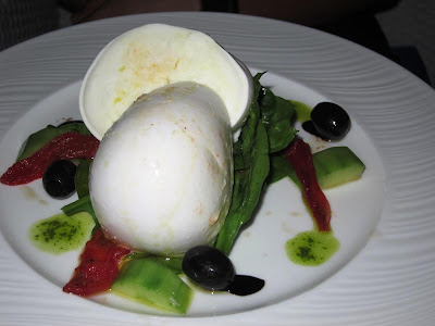 Mozarella at Blu