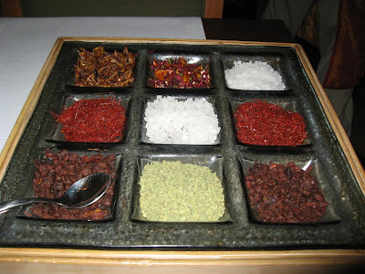 Supari platter at Masala Art