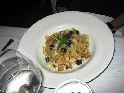 Spaghetti at Stone Water Grill