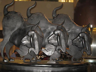 Satish Gujral's Nandi at the Lalit New Delhi