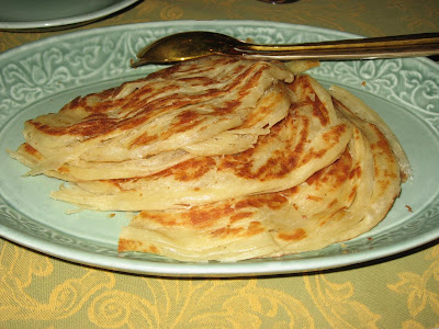 Malabar Parathas at The Spice Route