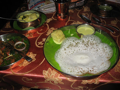 Appams and Meen Moili at Copper Point