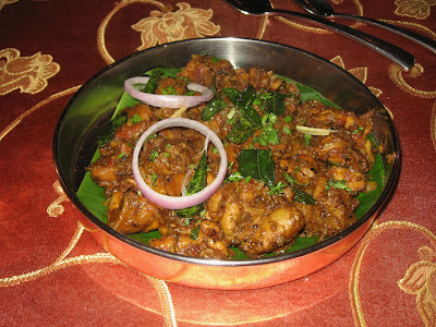 Kerala Pepper Chicken at Copper Point