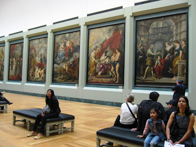 Reubens Hall at the Louvre