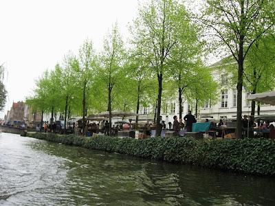 Flea Market in Bruges