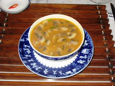 Soup at Blue Ginger