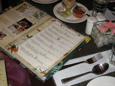 Malaka Spice Menu