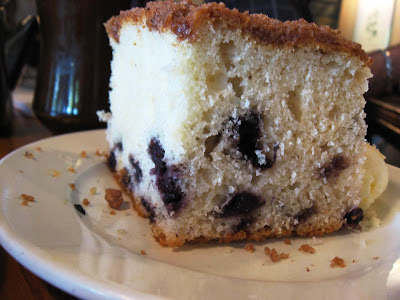 Blueberry Coffecake at Hobees