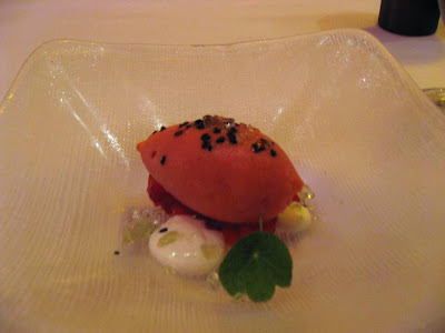 Strawberry Sorbet at Cortez