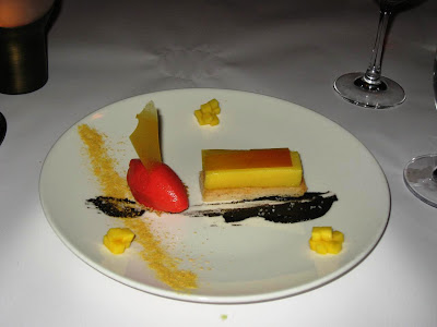 Mango Custard and Sorbet at Cortez
