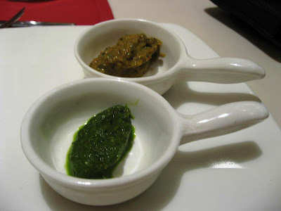 Chutneys at Samudra Chennai
