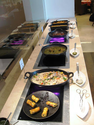 Lunch buffet at Cinnamon, Trident Chennai
