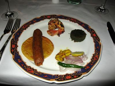 Kababs at Dum Pukht Kolkata