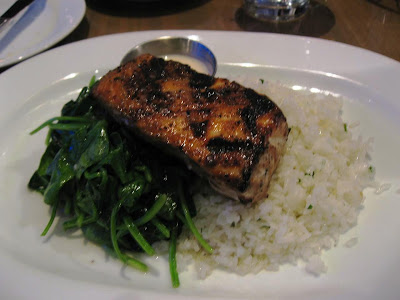 Grilled Salmon at Yankee Pier