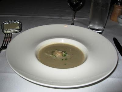 Sunchoke Soup at Ame
