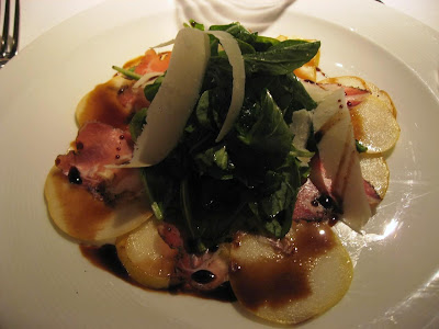 Baby Arugula Salad at Farallon