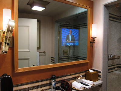 Magic mirror tv in St. Regis