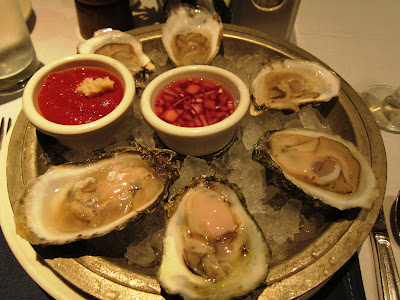 Oyster at Old Ebbitt Grill in DC