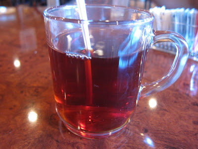 Persian tea at Kasra