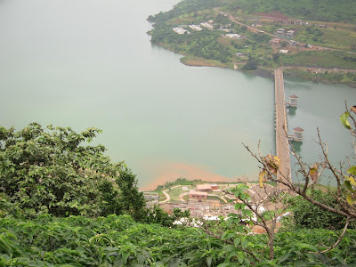 Lavasa from the hilltop