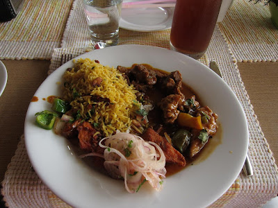 Lunch buffet at Ekaant, Lavasa