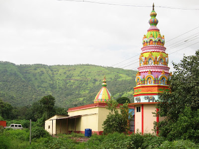 Temple enroute to Lavasa