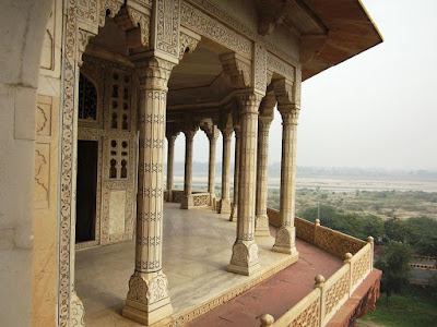 Shahjahan's Prison at Agra Fort