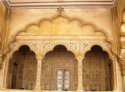 The Emperor's Pavilion at Agra Fort
