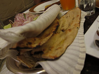 Indian breads at Kababs and Kurries