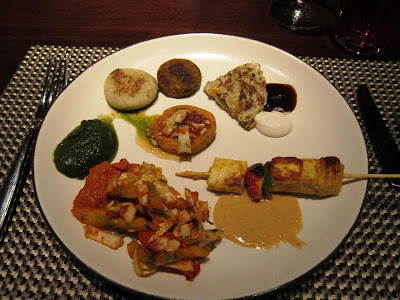 Veggie Starters at Shakahari Pune Marriott