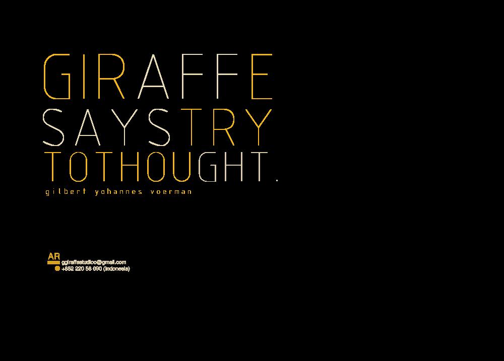 giraffesays !