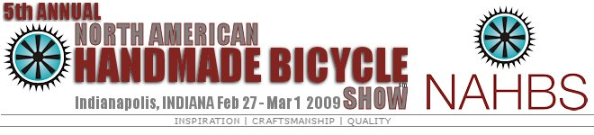 North American Handmade Bicycle Show : 2009