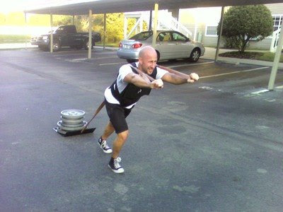 strong man training