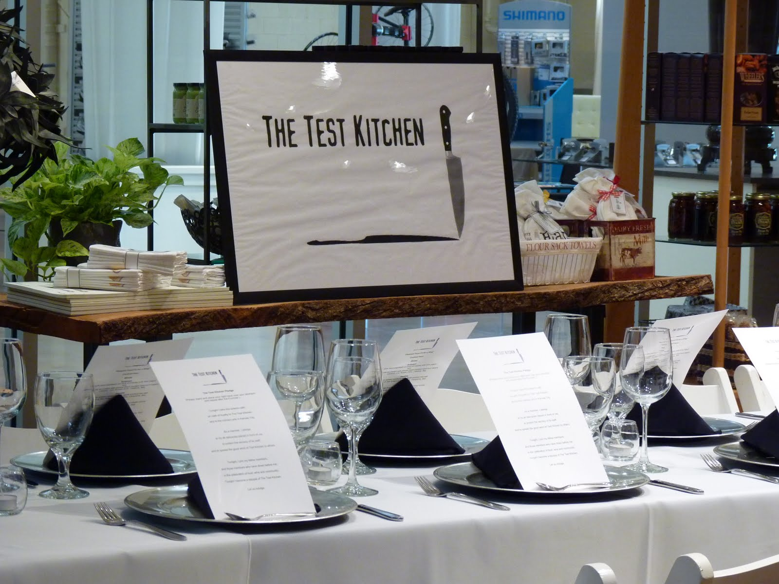 Cooking in Kansas City: THE TEST KITCHEN!!!!