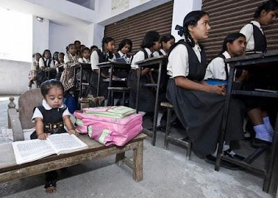 Tiny Girl in India 02