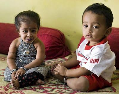 Tiny Girl in India 1
