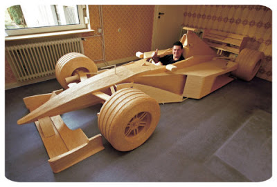 Man Builds Full Scale F1 Car From 956,000 Matchsticks Michael Arndt