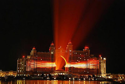 Hotel Atlantis Lightshow Trial Run 01