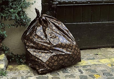 where do you find louis vuitton trash bags