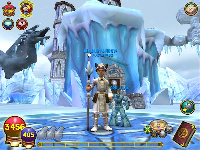 lvl 50 Thaumaturge wizard101 ice house