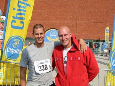 The marathon brothers, Frank Gielen en Sander Gielen