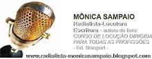 Radialista MÔNICA SAMPAIO