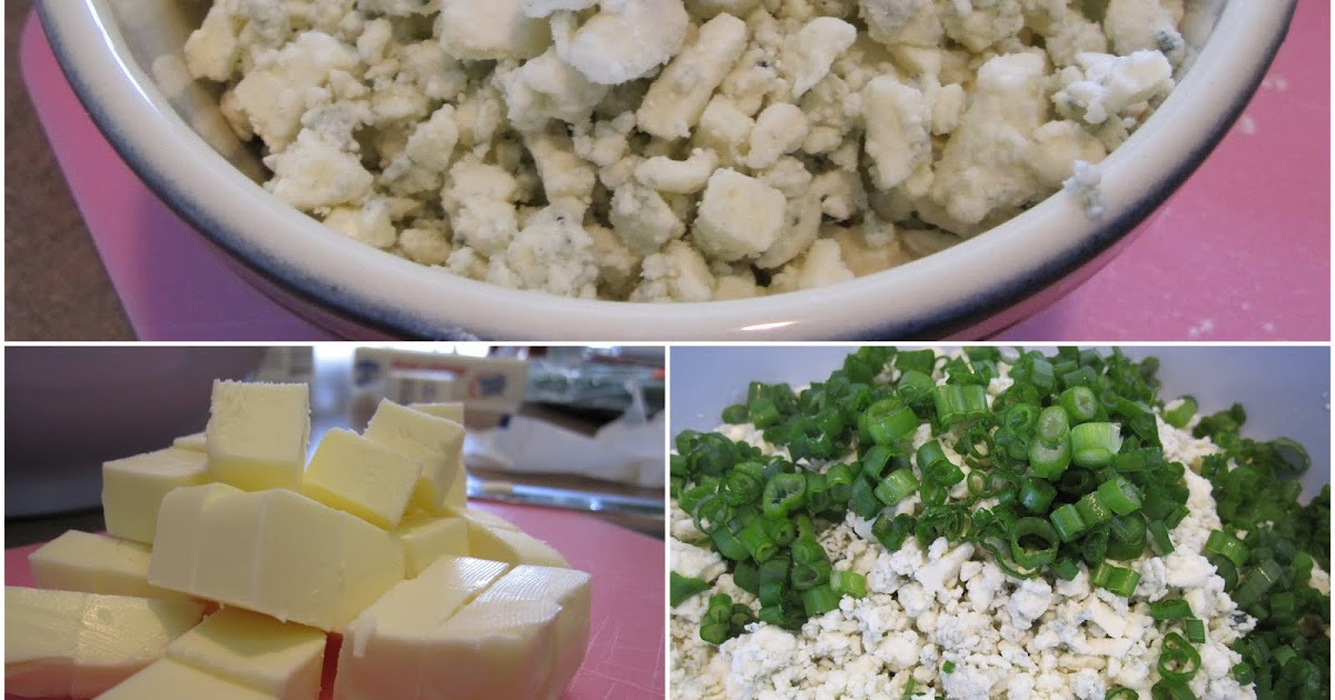 taylor made...: ... Blue Cheese Scallion Drop Biscuits