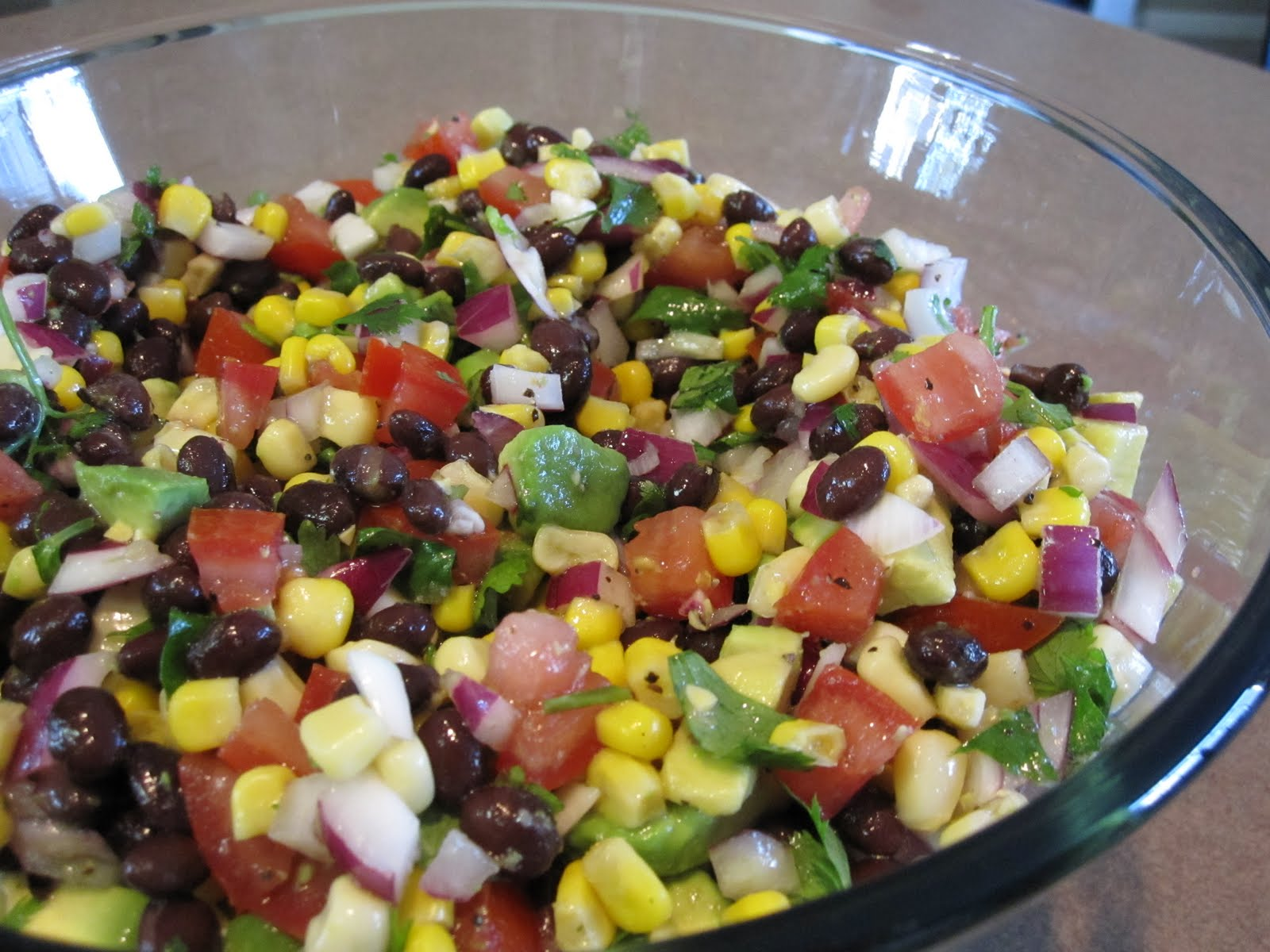 taylor made...: ... Black Bean and Corn Salsa