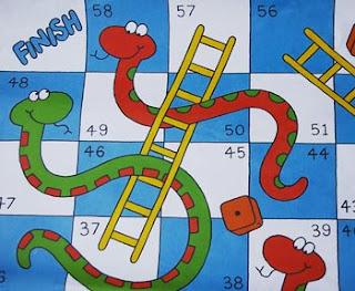 Juegos para beber serpientes y escaleras for Escaleras y serpientes imprimir