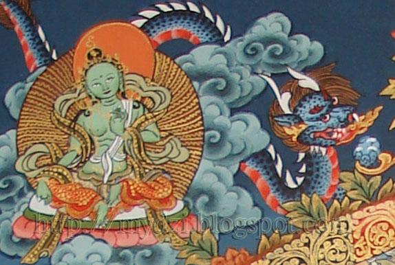 Medicine Mandala Green Tara
